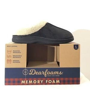 Dearfoams Memory Foam Slippers Brand New In Box